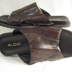 MEN'S ALDO LEATHER SANDALS EU 45 USA 11.5